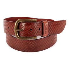 HAND COLORED BROWN CASUAL LEATHER BELT FOR MEN WITH HAND CUT DETAILING Product Code: NCB 27 AVAILABILITY: In Stock  Rs.5,000