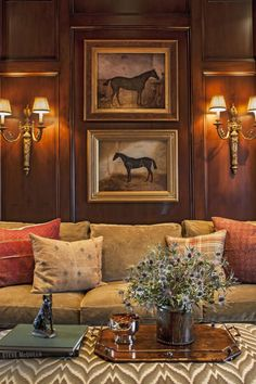 15 Handsome Wood Paneled Libraries + Father's Day Gift Guide - The Glam Pad - - Traditional wood panenel library study office classic old school preppy fathers day gift guide ideas interior design timeless style. Traditional Interior, Traditional House, Traditional Design, Home Interior Design, Interior Decorating, Diy Home Decor For Apartments, Paris Apartments, English Country Decor, French Country