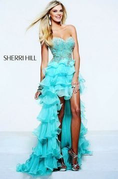 Shop for Sherri Hill designer prom dresses and evening gowns at Simply Dresses. Red carpet designer dresses for prom, homecoming, and pageants. Aqua Prom Dress, Prom Dress 2013, Pretty Prom Dresses, High Low Prom Dresses, Unique Prom Dresses, Prom Dresses Online, Strapless Dress Formal, Bridesmaid Dresses, Formal Dresses