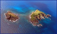 Seal Dog Islands in the British Virgin Islands, great for diving and snorkeling