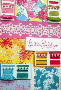 Lilly Pulitzer for Lee Jofa