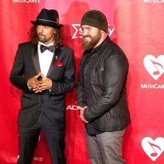Zac Brown + Jason Mraz #MusiCares Person Of The Year - @thegrammys- #webstagram
