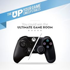 I just entered the Up Your Game Sweepstakes on eBay for a chance to win an Xbox One or PS4 and the Ultimate Gaming Room. Check it out and enter to win!
