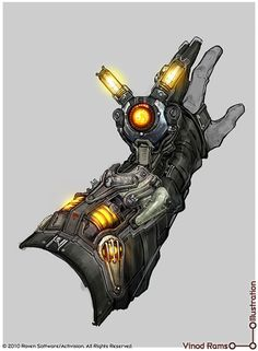 Bionic Glove Concept