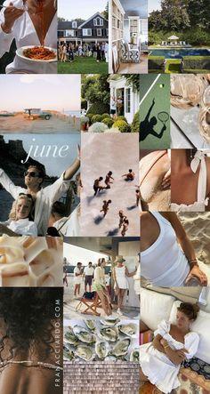 June Mood Board (Desktop + iPhone Wallpapers!)