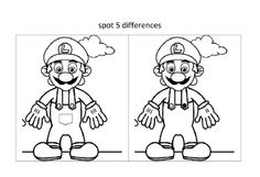 Spot the difference worksheets for kid's activities, include the easy 5 spot difference for boy (airplane image), spot the difference for girl (teddy bear and flower image) and also 10 spot difference image for older kids.