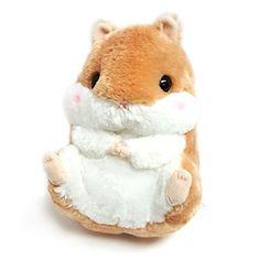 "AMUSE Hamster Plush Coroham Coron Stuffed Animal 11"" (Cor..."