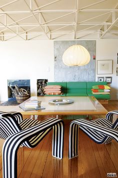 The world is already too filled with black and white. What about add a little color to your interior design?