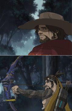 McHanzo Anime by Ricurd
