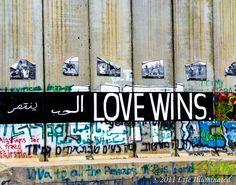 Love Wins, Bethlehm by Katie Archibald-Woodward