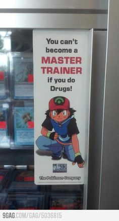 He's got a point! How are you supposed to beat red if you're on meth?