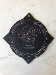 Wedding Cards, Our Wedding, Paper Art, Paper Crafts, Celestial Wedding, Bright Stars, Diy Birthday, Constellations, Letterpress