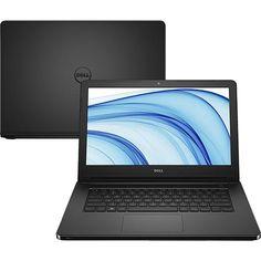 """[Submarino] Notebook Dell Pentium Quad Core 4GB 500GB 14"""" Linux -CC R$ 1.472,49"""