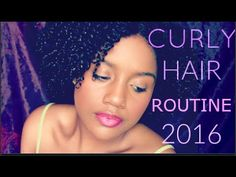 My Summer Curly Hair Routine 2016 | Updated Wash And Go