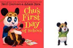 Chu's First Day of School by Neil Gaiman. Yes, Neil Gaiman!