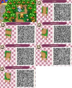 Animal Crossing: New Leaf Animal Crossing: New Leaf wallpaper in The Animal Crossing: New Leaf Club Related posts:The Sunday Computer ClubPink raincoat acnl qr codeACNL Wallpaper by frootzcat on DeviantArtSo cute!animal crossing new leaf. Qr Code Animal Crossing, Animal Crossing Qr Codes Clothes, Post Animal, My Animal, Animal Logo, Leaf Animals, Cute Animals, Acnl Pfade, Acnl Paths