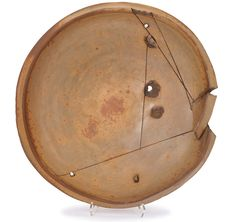 "Peter Voulkos Untitled (Plate) Executed 1979 Glazed ceramic Studio Signed ""Voulkos 79"" 4.25"" x 22.5"" diameter"