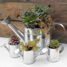 Vasos charmosos para suas plantas   Vila do Artesão