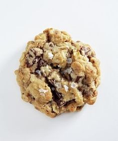 Chunks of chocolate make this cookie gooey and decadent; the rolled oats lend a heartier texture. Get the recipe for Salted Oatmeal Cookies With Dark Chocolate.