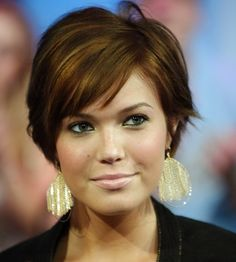 haircuts for oval faces and fine hair | proof of fabulous short hairstyles 2013 for fine hair . Her short hair ...