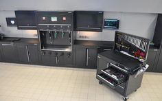 Audi Workshops & Workshop Cabinets from Dura Ltd