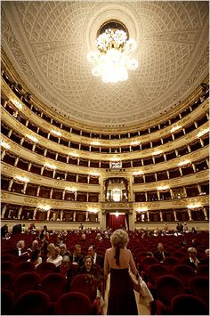 I went to La Scala - Milan, Italy in the 80's and heard Bocelli there for the first time. It was magical, both the site and the man