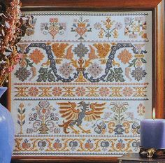 Exquisite Dmc  DRAGON SAMPLER - Counted Cross Stitch Pattern Chart - fam