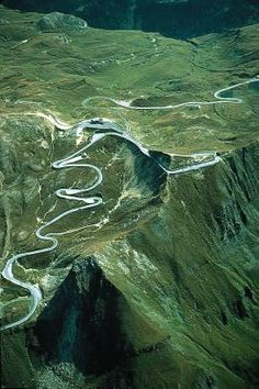 Grossglockner High Alpine Road, Austria.