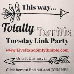 Totally Terrific Tuesday Link Party-Join in on the fun! @Jessbures