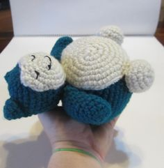 Snorlax Pokemon Amigurumi by tiffamis on Etsy, $25.00