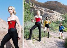 steampunk star trek | Star Trek Theme Corsets! | The Shorts Magazine.Com