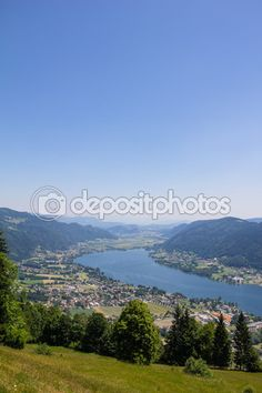 #View To #Lake #Ossiach From #Gerlitzen @depositphotos #depositphotos @carinzia #ktr15 #nature #landscape #carinthia #austria #summer #season #spring #outdoor #hiking #holidays #vacation #travel #leisure #sightseeing #stock #photo #portfolio #download #hires #royaltyfree