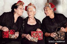 Fashion on the Couch: Dolce & Gabbana Spring/Summer 2015 Ad Campaign By Domenico Dolce