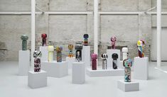 Small kokeshi sculptures made by Danish and international designers Danish Design, Designers, Art, Sculpture
