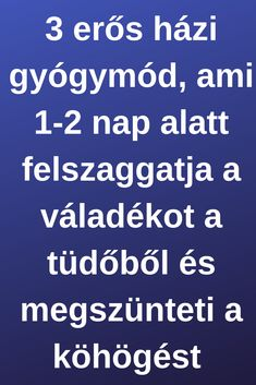 3 erős házi gyógymód, ami 1-2 nap alatt felszaggatja a váladékot a tüdőből és megszünteti a köhögést Herbal Remedies, Home Remedies, Natural Remedies, Health Tonic, Health Advice, Health Motivation, Natural Health, Herbalism, Detox