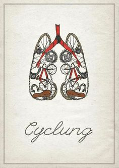 Bicycle Graphic Design - for Dr. K