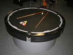 Pool Table Pool Tables Round Base Pinterest Pool Table Cave - Circular pool table