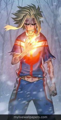 | Save & Follow | All Might • Live Wallpaper • My Hero Academia • Boku no Hero Academia