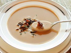 How to make creamy Chanterelle Mushroom Soup #recipe