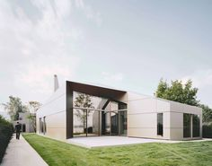 House of Lake Constance | Germany by Biehler Weith Associated, Constance | Photo: Brigida Gonzalez ALUCOBOND® plus Anodized Look C32