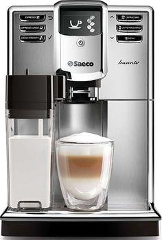 Saeco Incanto HD8917/01 Saeco Incanto HD8917/01: espresso volautomaat De Saeco Incanto HD8917/01 is een volautomatische espressomachine met 100% keramische molens en 7 koffievarianten voor ongekend koffiegenot! Met de OneTouch-functie maak je met één druk op de knop jouw favoriete kop koffie. De Saeco Incanto HD8917/01 is gemakkelijk in het gebruik bevat een snel opwarmende waterboiler en werkt ook met gemalen koffie. Espresso volautomaat Pompdruk: 15 bar Bonenreservoir: 250 gr…
