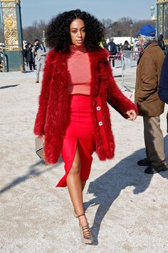 Solange Knowles....LOVE those shoes!!!!