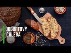 Jogurtový chleba (domácí bezlepkové pečivo) - YouTube Banana Bread, Paleo, Toast, Food And Drink, Low Carb, Breakfast, Desserts, Diet, Morning Coffee