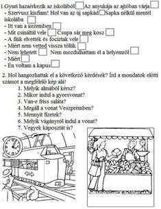 GYAKORLÓ FELADATOK A MONDATFAJTÁKHOZ 2. OSZTÁLY - tanitoikincseim.lapunk.hu Bullet Journal, Education, School, Dyslexia, Studying, Onderwijs, Learning