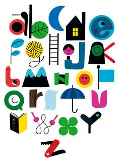 somewhere between illustration and typography...