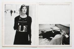 Anjelica Huston photographed by Bob Richardson and styled by Caroline Baker for Nova, Jnauary 1972.