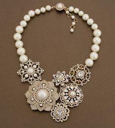 I'm not a big necklace person (short neck) but would consider this for a special occasion.