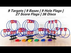 TripleShot Disc Target Set Disc Golf Game, Target Setting, Negative Numbers, Physical Education, Games, Homeschool, Physical Education Lessons, Physical Education Activities, Gaming
