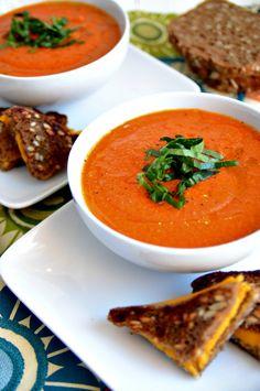 Dreamy Vegan Tomato Soup