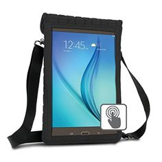 "10 Inch Tablet Case Holder Neoprene Sleeve Cover by USA Gear (Black) Built-in Screen Protector & Carry Strap - Fits Samsung Galaxy Tab A 10.1, Insignia FLEX 10.1, Acer ICONIA ONE 10, more 10"" Tablets #Inch #Tablet #Case #Holder #Neoprene #Sleeve #Cover #Gear #(Black) #Built #Screen #Protector #Carry #Strap #Fits #Samsung #Galaxy #Insignia #FLEX #Acer #ICONIA #more #Tablets"